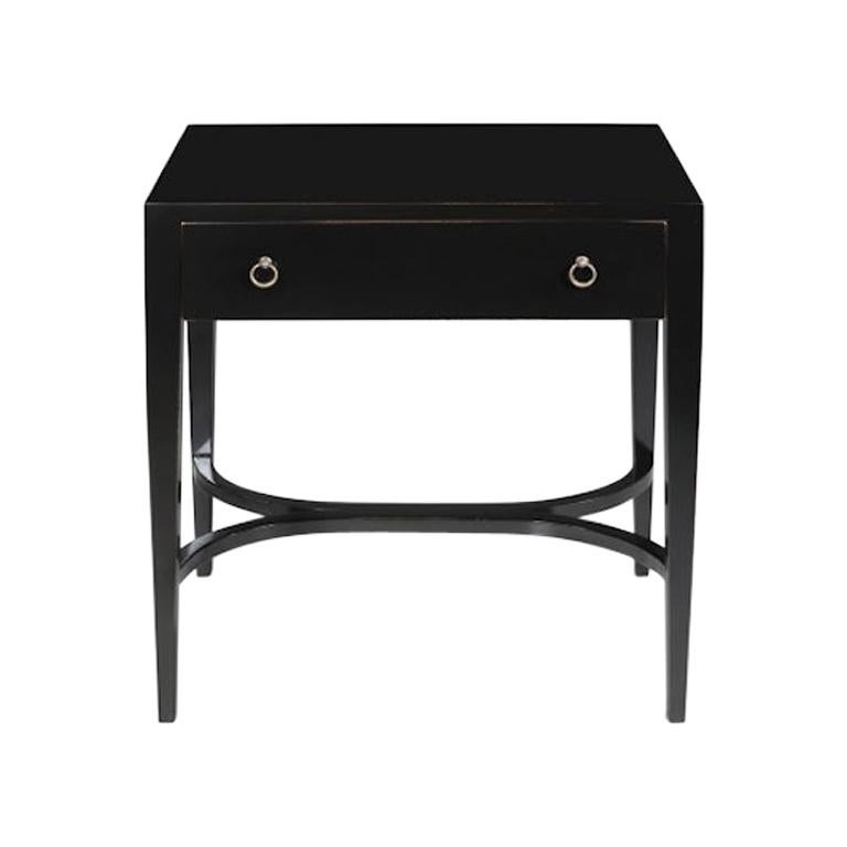 French Lewis Bedside Table, 20th Century