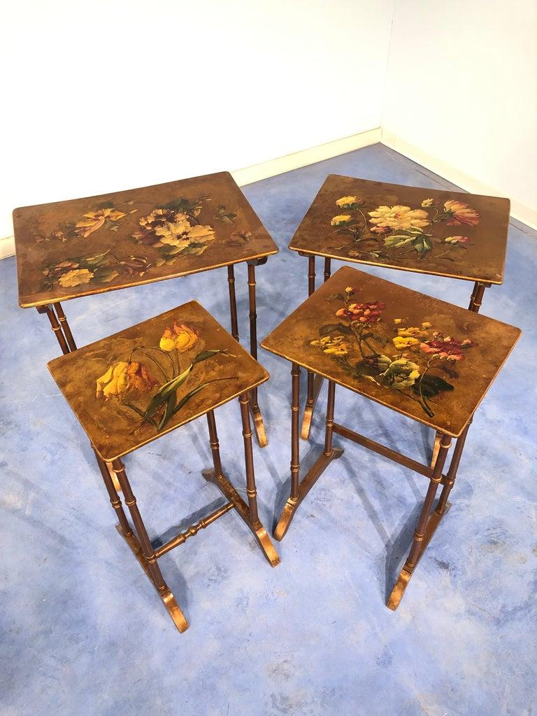 French Liberty Art Nouveau Coffee Table