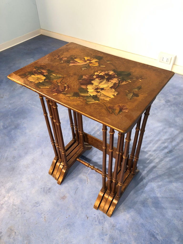Early 20th Century French Liberty Art Nouveau Coffee Table
