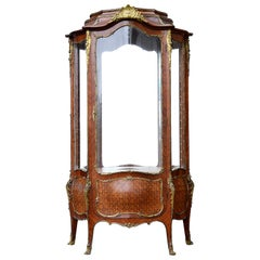 French Linke Influenced Vitrine, 19th Century