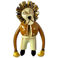 French Lion Pin