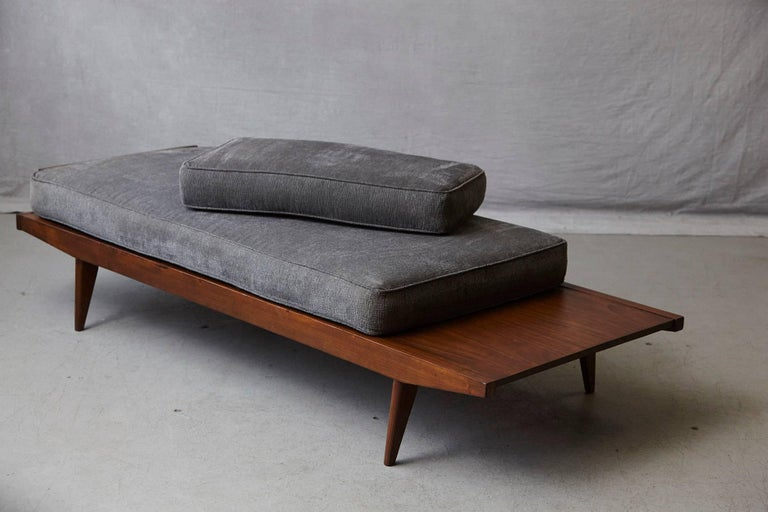 Mid-Century Modern French Lit de Repos or Daybed by Melior Marchot, 1950s For Sale