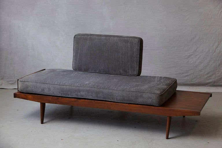 Mid-20th Century French Lit de Repos or Daybed by Melior Marchot, 1950s For Sale
