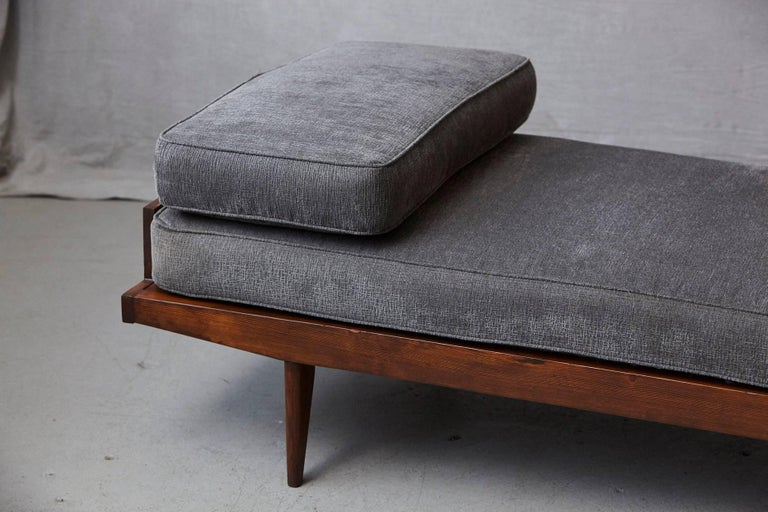 Metal French Lit de Repos or Daybed by Melior Marchot, 1950s For Sale