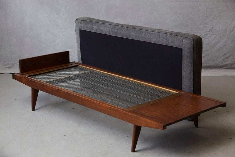 French Lit de Repos or Daybed by Melior Marchot, 1950s For Sale 3
