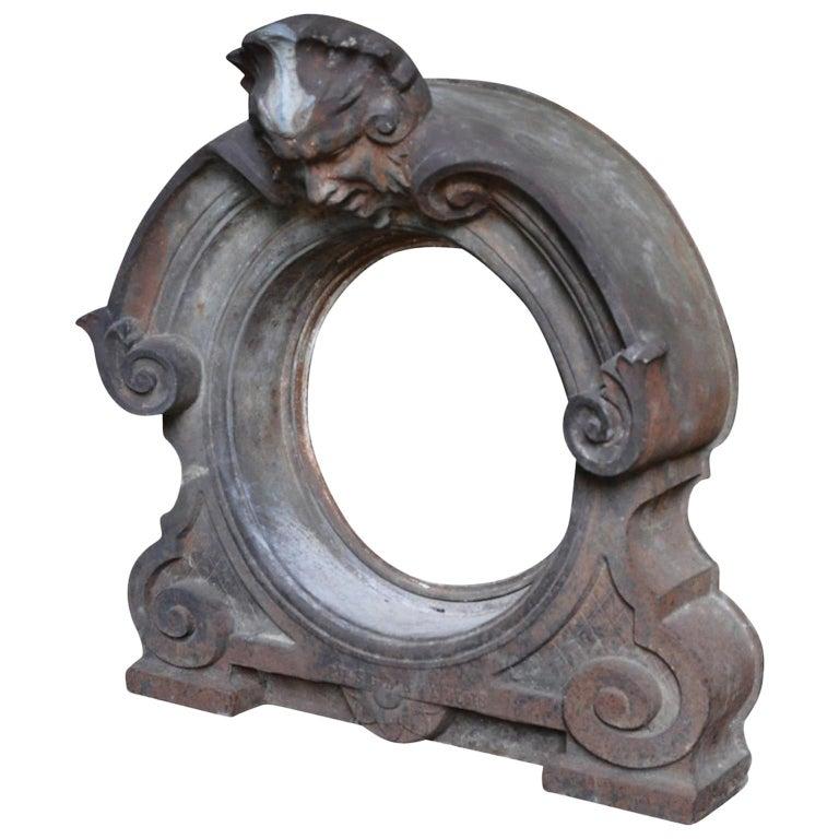 French L'oeil Du Boeuf, Window Frame For Sale