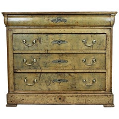 French Louis Philippe Four-Drawer Chest