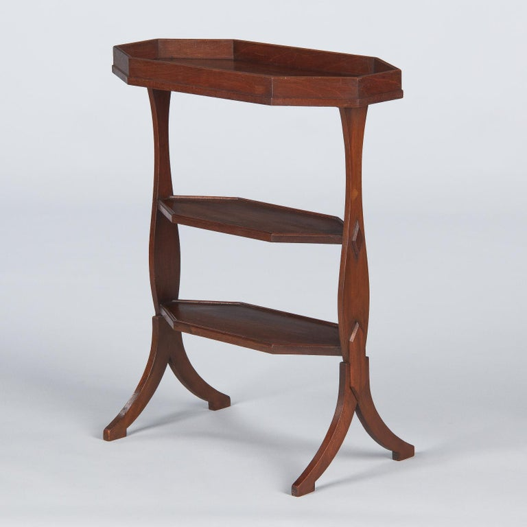 French Louis Philippe Seamstress Working Table in Walnut, Early 1900s For Sale 8