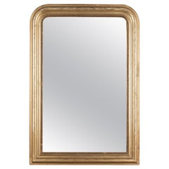 French Louis Philippe Style Gilded Mirror