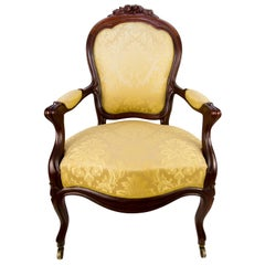French Louis Philippe Style Late 19th Century Armchair