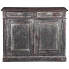 French Louis Philippe Style Painted Buffet, Early 1900s