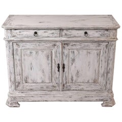 French Louis Philippe Style Painted Sideboard