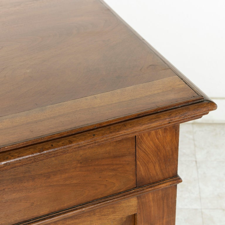 French Louis Philippe Walnut Buffet d'Appui, Server or Sideboard, circa 1900 For Sale 7