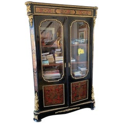 French Louis Style Display Cabinet