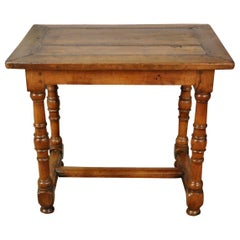 French Louis XIII Style 18th Century Side Table