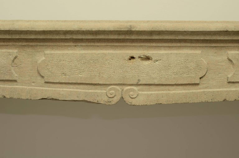 18th Century French Louis XIV Fireplace Mantel For Sale
