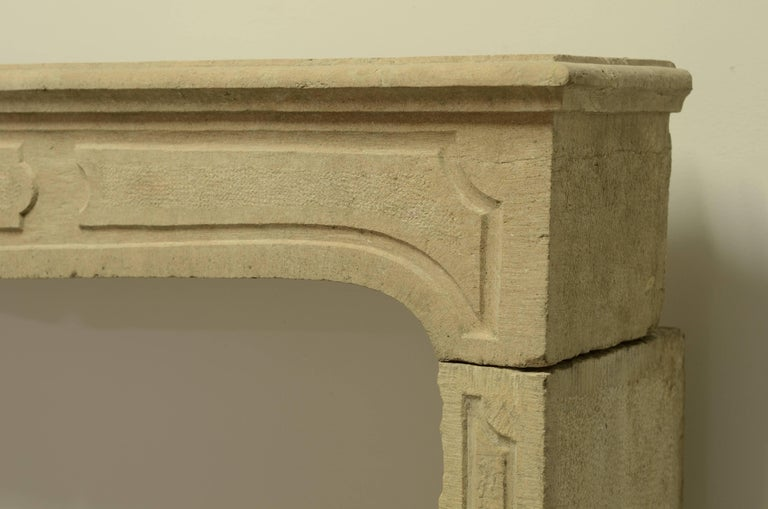 French Louis XIV Fireplace Mantel For Sale 2