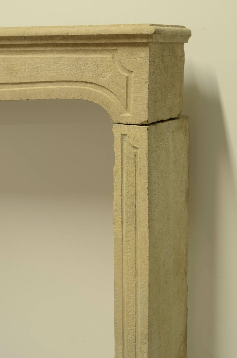 French Louis XIV Fireplace Mantel For Sale 3