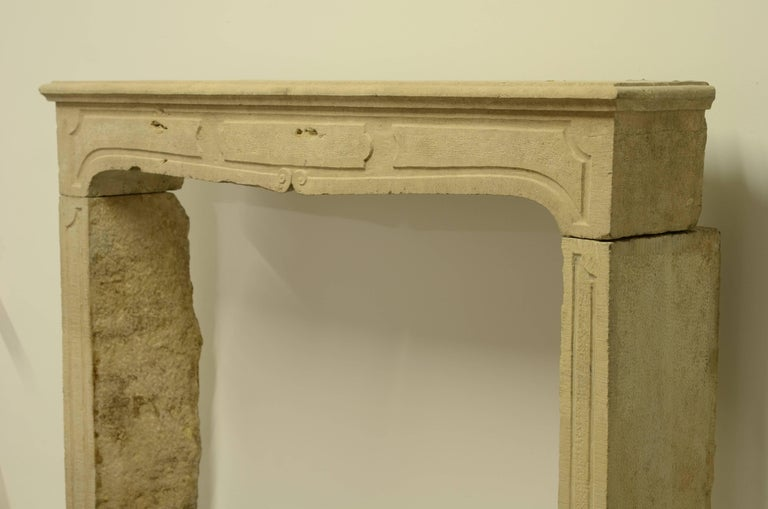 French Louis XIV Fireplace Mantel For Sale 4