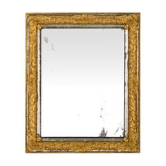 French Louis XIV Period Mid-17th Century, circa 1660 Double Framed Mirror