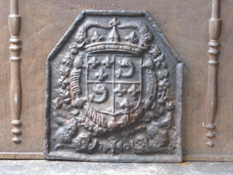 Coat of arms of the House of Bourbon, an originally French Royal house that became a major dynasty in Europe. It delivered kings for Spain (Navarra), France, both Sicilies and Parma. Bourbon kings ruled France from 1589 up to the French revolution