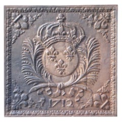 French Louis XIV Style 'Arms of France' Fireback