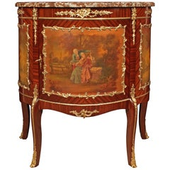 French Louis XV 19th Century Mahogany Cabinet