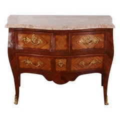 French Louis XV 'Bombe' Commode