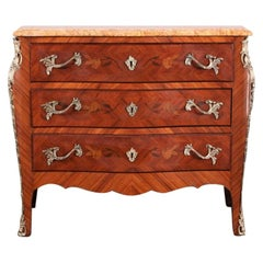 French Louis XV Bombe Commode
