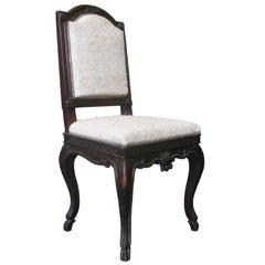 French Louis XV Carved Side Chair