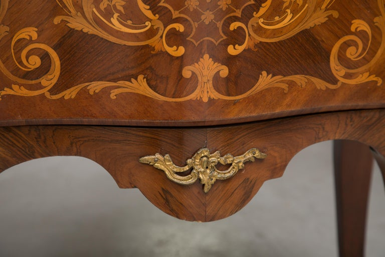 French Louis XV Marquetry Single-Door Cabinet For Sale 1