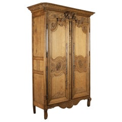 French Louis XV Normandy Bridal Armoire