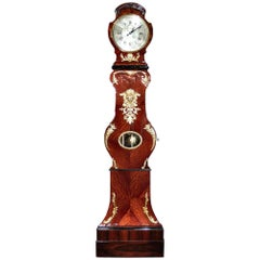 French Louis XV Period Tall Case Clock with an Extremely Rare Mechanism Movement