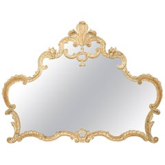 French Louis XV Style '19th-20th Century' Wall Mirror