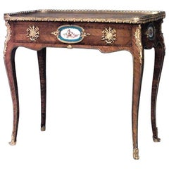 French Louis XV Style 19th Century Kingwood Lady's Writing Desk