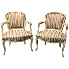 French Louis XV Style 20th Century Armchairs
