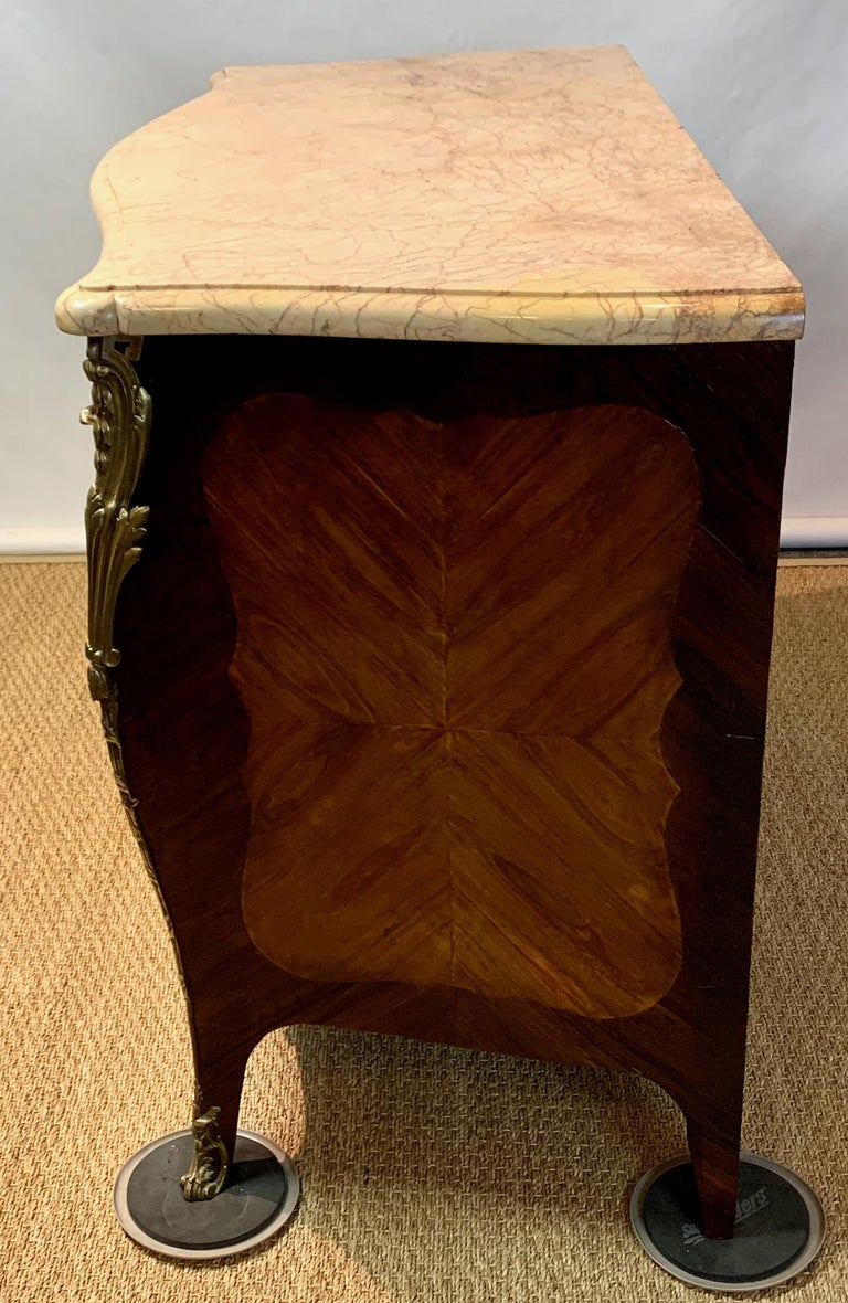 French Louis XV Style Bombé Commode For Sale 10