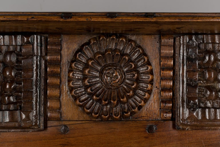 French Louis XV Style Buffet from Brittany For Sale 9