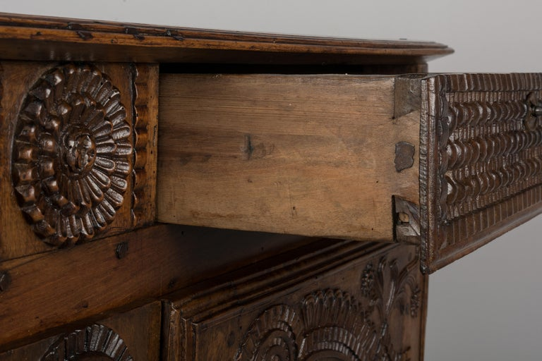 French Louis XV Style Buffet from Brittany For Sale 11
