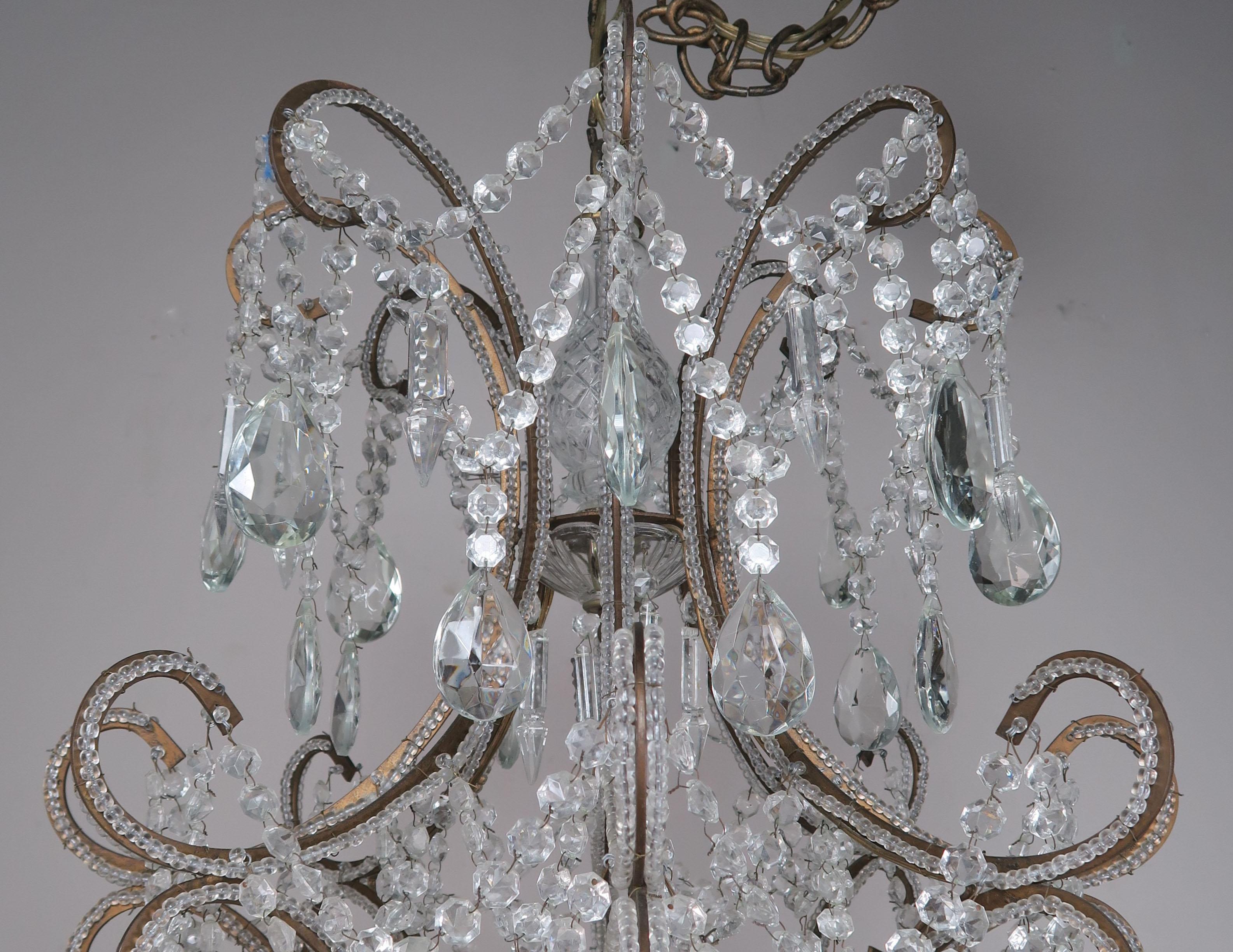 Französische Kronleuchter Antik ~ Französischer louis xv stil kristall kronleuchter im angebot bei