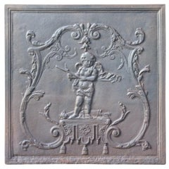 French Louis XV Style 'Cupid' Fireback