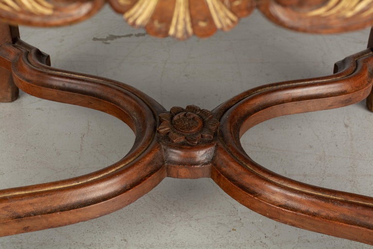 French Louis XV Style Foot Stool or Bench For Sale 3