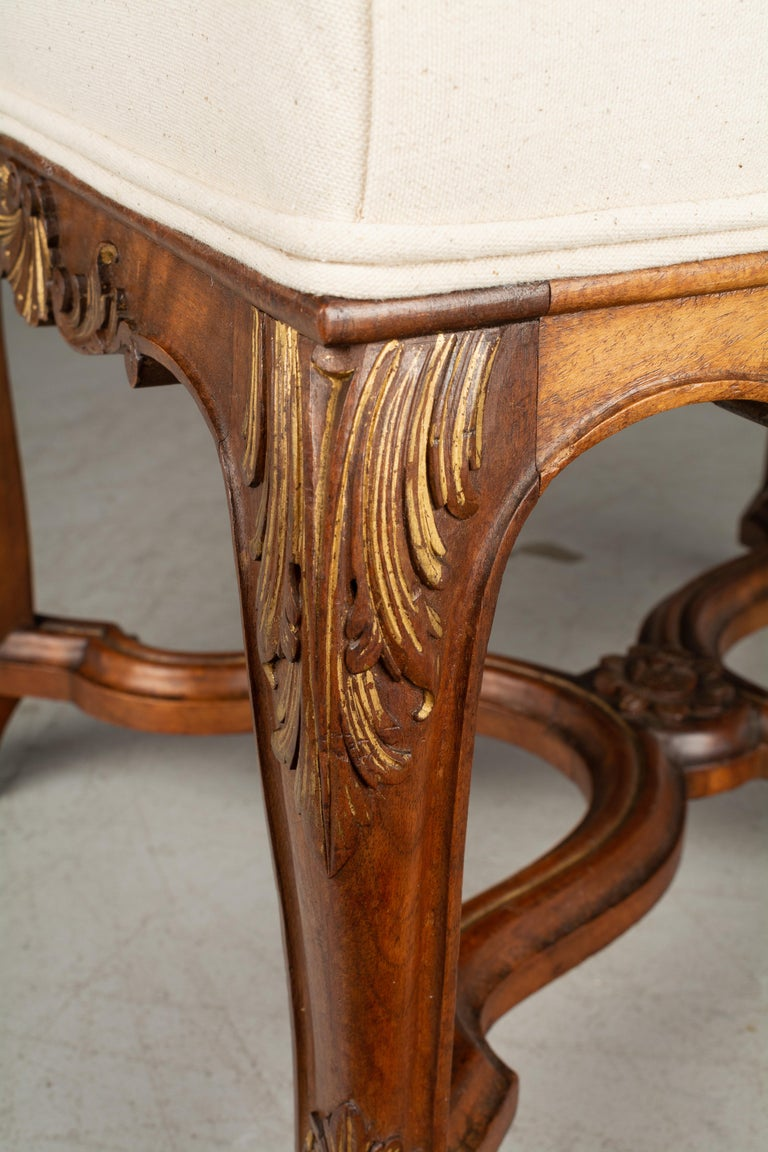 French Louis XV Style Foot Stool or Bench For Sale 1