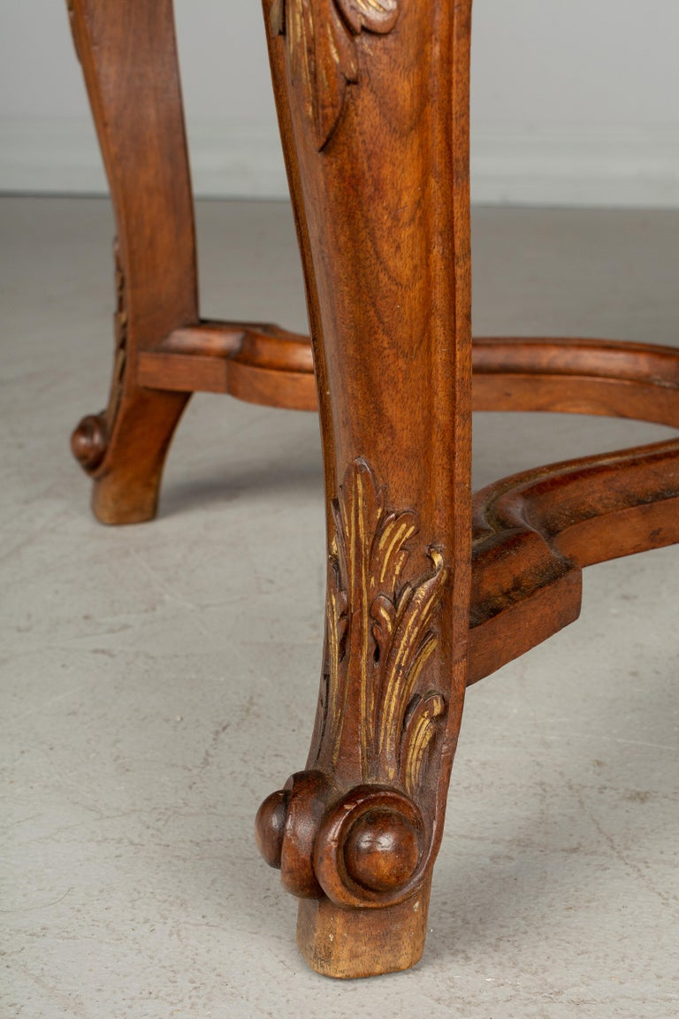 French Louis XV Style Foot Stool or Bench For Sale 2