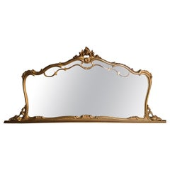 French Louis XV Style Gilt Mirror