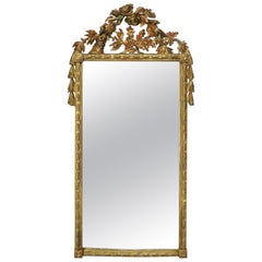 French Louis XV Style Rococo Giltwood Carved Mirror