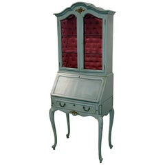 French Louis XV Style Secretary Desk