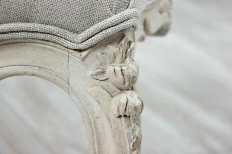 French Louis XV Style Bench For Sale 1