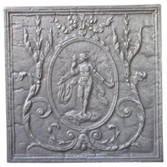 French Louis XV Style 'Venus' Fireback