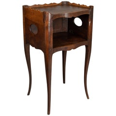 French Louis XV Style Walnut Side Table